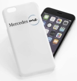 Чехол для iPhone 6 Mercedes me, White Plastic Case, Soft Touch, артикул B66958089
