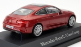 Модель Mercedes-Benz C-Class Coupe (C205), Scale 1:43, Hyacinth Red, артикул B66960531