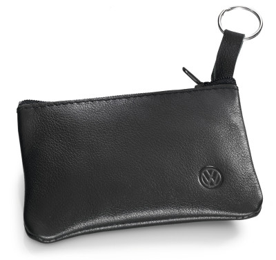Кожаная ключница Volkswagen Leather Key Pouch, Black