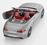 Модель Mercedes-Benz S-Class Cabriolet, Designo Allanite Grey Matt, 1:18 Scale, артикул B66960355