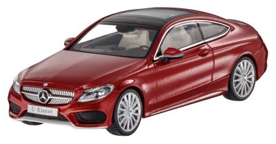 Модель Mercedes-Benz C-Class Coupe (C205), Scale 1:43, Hyacinth Red