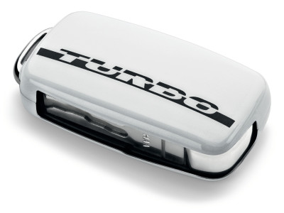 Накладка на ключ Volkswagen Plastic Key Case Turbo, White