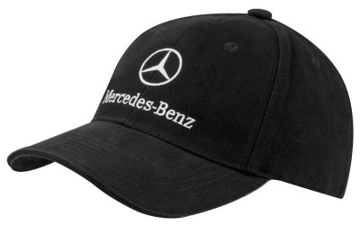 Бейсболка унисекс Mercedes-Benz Baseball Cap, Original Star, Black