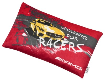Подушка Mercedes AMG GT Cushion, Red / Yellow / Anthracite