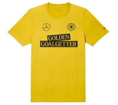 Мужская футболка Mercedes Men's T-Shirt, Golden Goalgetter