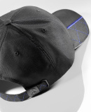 Мужская бейсболка Mercedes-Benz Men's Baseball Cap, Black / Blue, артикул B66952924