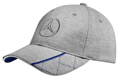 Мужская бейсболка Mercedes-Benz Men's Baseball Cap, Grey / Blue