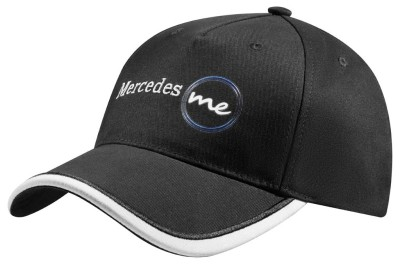 Бейсболка Mercedes Me Baseball Cap, Black