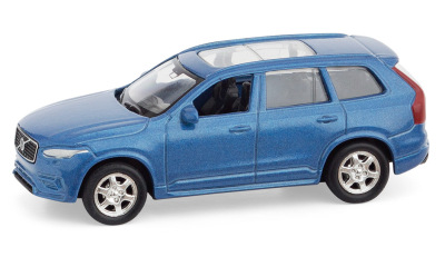 Модель Volvo XС90 Pullback Toy Car, Blue, Scale 1:60