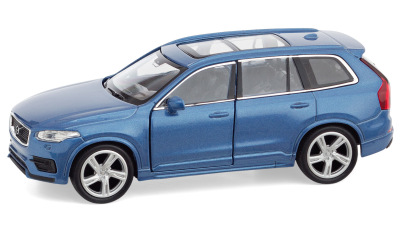 Модель Volvo XС90 Pullback Toy Car, Blue, Scale 1:38