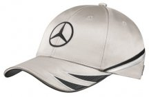 Бейсболка Mercedes DTM Men's Cap, Silver / Black