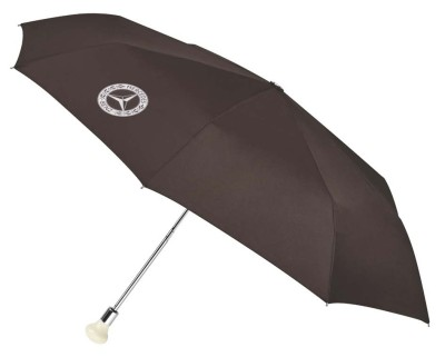 Складной зонт Mercedes 300 SL Compact Umbrella, Brown / Silver