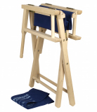 Складное кресло Land Rover Foldable Heritage Director Chair, Navy, артикул LBOD226NVA