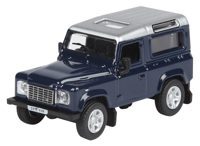 Модель автомобиля Land Rover Defender 2013, Scale Model 1:76, Tamar Blue