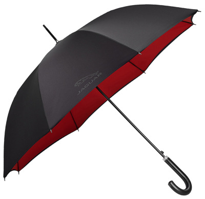 Зонт трость Jaguar Golf Stick Umbrella, Black Red