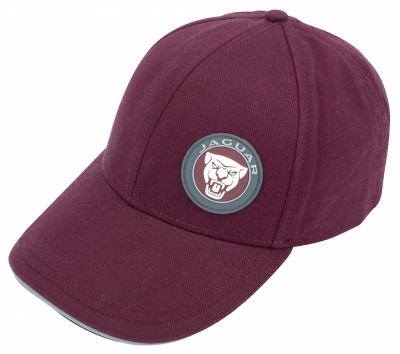 Бейсболка Jaguar Growler Baseball Cap, Burgundy
