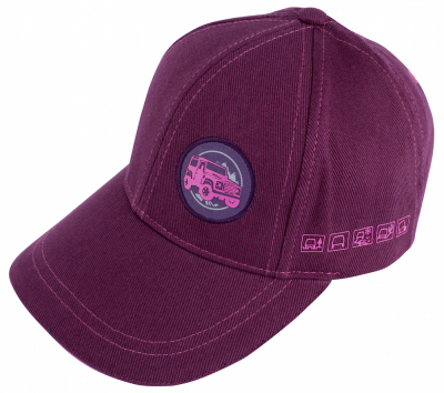 Детская бейсболка Land Rover Defender Kid's Cap, Plum