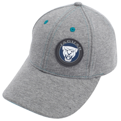Детская бейсболка Jaguar Growler Kids Baseball Cap, Grey Marl