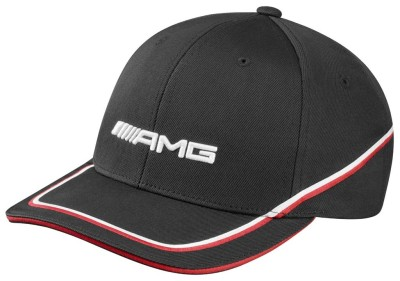 Мужская бейсболка Mercedes-Benz Men's cap, AMG, black / red / white