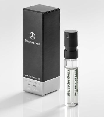 Пробник, мужская туалетная вода Mercedes-Benz Perfume Men, Sample