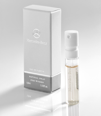 Пробник, женская туалетная вода Mercedes-Benz Perfume Women, Sample