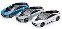 Модели различных цветов BMW i8 (i12), 1:64 scale