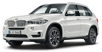 Модель автомобиля BMW X5 (F15), 1:43 scale, Alpine White