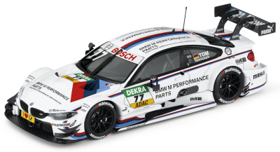 Модель BMW M4 DTM 2014, Martin Tomczyk No.10, White, Scale 1:43