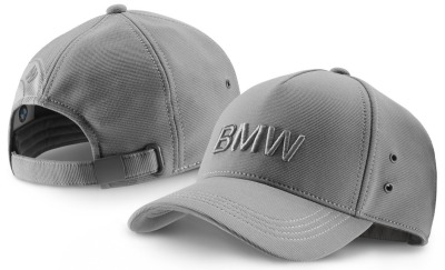 Бейсболка BMW Cap Wordmark, Space Grey