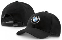 Бейсболка BMW Logo Cap, Deep Black