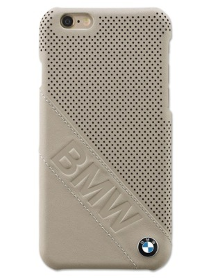 Крышка BMW для iPhone 6 Plus, Hard Case, Taupe