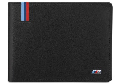 Кожаный кошелек BMW M Wallet with Coin Compartment
