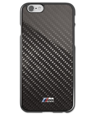 Карбоновый чехол BMW M для iPhone 6 Plus, Hard Case, Black