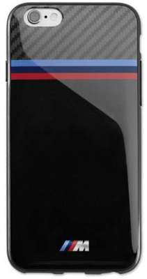 Чехол BMW M для Samsung Galaxy S6, Soft Case, Black