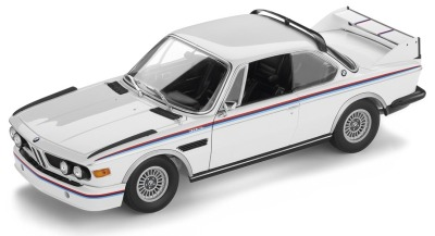 Коллекционная модель BMW 3.0 CSL, Heritage Collection, 1:18 scale, White Motorsport