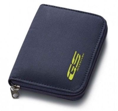 Кошелек BMW Motorrad GS Adventure Wallet, Navy Blue