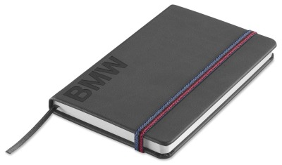 Блокнот BMW Wordmark Notebook, Space Grey