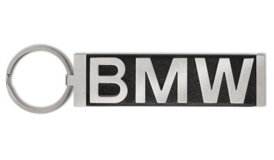 Брелок BMW Key Ring Pendant, Wordmark, Black