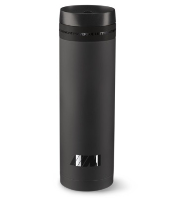 Термокружка BMW M Thermo Mug, Black matt