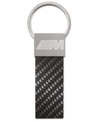 Брелок BMW M Carbon Key Ring Pendant, Black