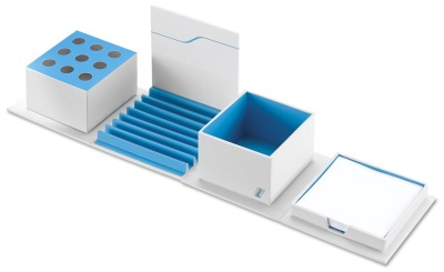 Органайзер для письменного стола BMW i Desktop Organiser, White / Blue