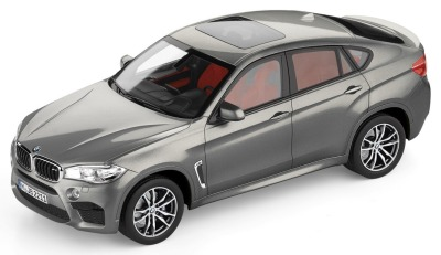 Модель BMW X6M (F86), Scale 1:18, Donington Grey