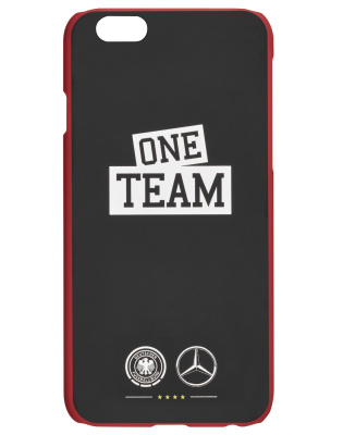 Пластиковый чехол для iPhone 6/6S Mercedes-Benz Cover for iPhone® 6/6s, ONE TEAM, Black