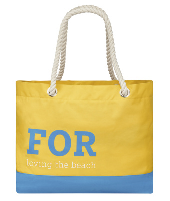 Пляжная сумка Smart Beach Bag, Yellow / Blue