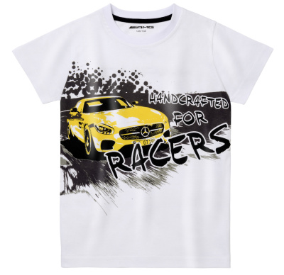 Детская футболка Mercedes AMG Children's T-shirt, White