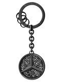 Брелок для ключей Mercedes-Benz Key Ring, Saint-Tropez, Black Edition, артикул B66955999