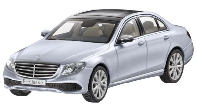 Модель Mercedes-Benz E-Class Saloon (W213), Exclusive, Scale 1:43, Diamond Silver