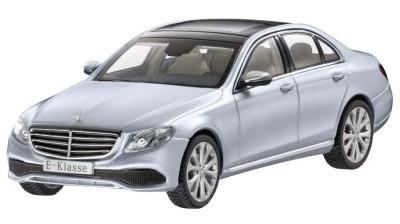 Модель Mercedes-Benz E-Class Saloon (W213), Exclusive, Scale 1:43, Diamond Silver
