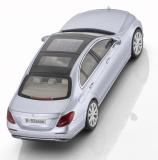 Модель Mercedes-Benz E-Class Saloon (W213), Exclusive, Scale 1:43, Diamond Silver, артикул B66960375