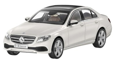 Модель Mercedes-Benz E-Class Saloon (W213), Avantgarde, Scale 1:43, Designo Diamond White Bright